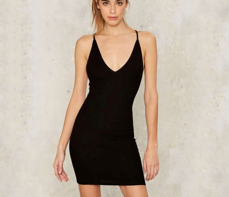 b89bd1e802c653 high quality wholesale Sexy solid color back cross strap tight dress  10.6  sku a8